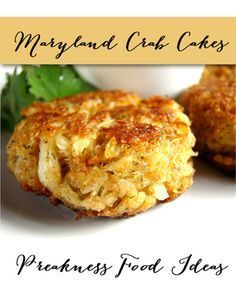 Maryland Crab Cakes Recipe for Your Preakness Party | TheInvitationShop.com