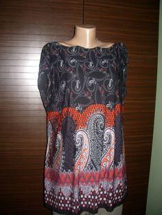 Boho Tunic Cotton Tunic Plus Size Maternity Clothing by PlusStyle, £21.00