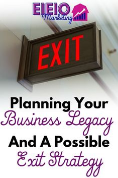 Many online business owners love to say they'll work forever - but, you can't know for sure how you'll feel in 5-30 years. It's best to plan for an exit strategy. You can always keep working - but there is no reason you should be forced to. Sell Your Business, Branding Your Business, Growing Your Business, Online Business, Facebook Marketing Strategy, Make Money Blogging, 30 Years, Productivity, Entrepreneur