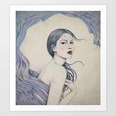 209 Art Print by Diego Fernandez - $17.00