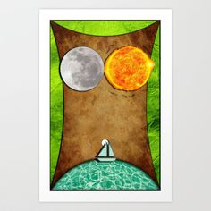 MOTHER EARTH Art Print by NioviSakali - $14.56