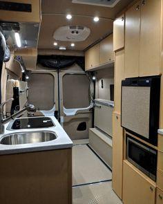 Our favorite custom DIY Ford Transit camper conversions. Ford Transit Custom Camper, Ford Transit Camper Conversion, Ford Transit Campervan, Van Conversion Interior, Sprinter Van Conversion, Camper Van Conversion Diy, Sprinter Camper, Car Camper, Van Living