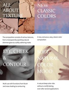 - The mono eye shades helps you discover new appearances with various textures and sensuous colors - 10 COLORSMade in korea K Beauty, Korea, Blush, Eyeshadow, Shades, Texture, Colors, Surface Finish, Shutters