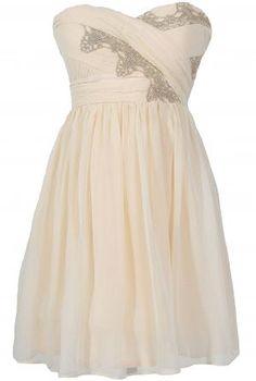 Golden Age Ivory Chiffon Designer Gown…