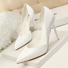 2018 New Arrival High Heel Pumps - HighHeel-Fashion High Heel Pumps, Pointed Toe Pumps, Women's Pumps, Stiletto Heels, Shoes Heels, Dress Shoes, High Heels For Prom, Extreme High Heels, Prom Heels