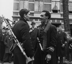 Members of the Dutch resistance, 1944