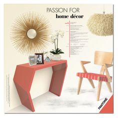 Polyvore Home Decor Pantone Passion By Justlovedesign Liked On Featuring Interior Interiors