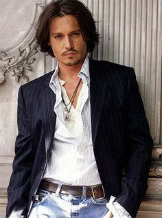 Johnny Depp.  Seriously sexy.