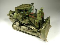 D9R Armoured Buldozer 1/35 Scale Model