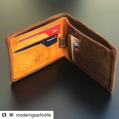 Read fresh review from @moderngearforlife ・・・ Just published the review of the @wooletco Brown wallet. I love the brilliant orange on the inside of this wallet. Check out the review to see how it never lets you lose it. Link in profile. #leather #wallet #tech #blog #review #woolet #smartwallet #wearables #leathergoods #brownwallet #modernman #fashionaccessories #accessories #rfidwallet