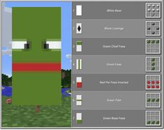 Top 10 Coolest Banners In Minecraft Plans Minecraft, Minecraft Shops, Minecraft House Designs, Minecraft Tutorial, Minecraft Blueprints, Minecraft Creations, Minecraft Projects, Minecraft Crafts, Minecraft Banner Crafting