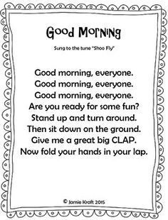 Every class should start out with a HELLO song to get the day started. Here is s FREEBIE of 10 songs that an teacher can use to say Hello and Good Morning! Songs Included in this booklet: Kindergarten Songs, Preschool Music, Preschool Learning, Preschool Good Morning Songs, Hello Songs Preschool, Hello Song For Kids, Preschool Classroom Management, Preschool Fingerplays, All About Me Preschool Theme
