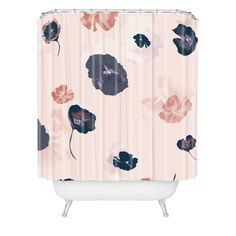 Khristian A Howell Mademoiselle In Pink Shower Curtain | DENY Designs Home Accessories