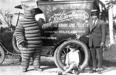Very early Michelin ad