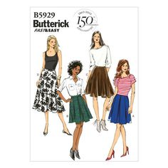 Mccall Pattern B5929 14-16-18-2-Butterick Pattern