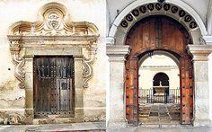 Antigua, Guatemala: Doors of perfection