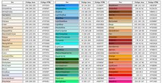 COLOR NAME 1