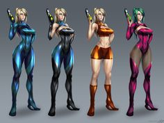 Metroid and Samus aran Samus Aran Zero Suit, Zero Suit Samus, Cartoon Video Games, Video Games Girls, Game Character, Character Concept, Metroid Samus, Metroid Prime, Super Metroid