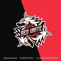 Mobile Legend Wallpaper, Sports Logos, Game Logo, Mobile Legends, Squad, Red And White, Gaming, Logo Design, Behance