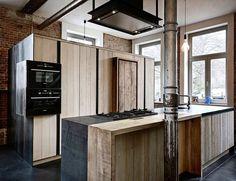 Kitchen. Zen. #kitchen #kitchendesign #wood #metal #wooddesign  #interiordesign  #loft #brussels #interior #furnituredesign #belgiandesign