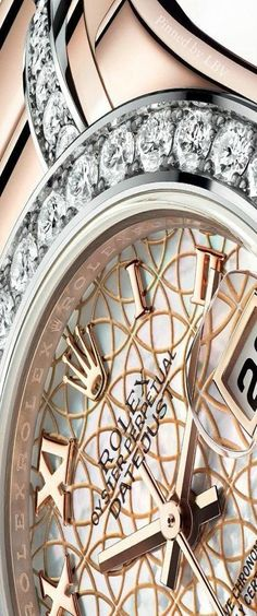 Rolex ♥✤Design Details via: