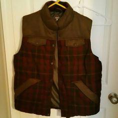 Mens winter vest NWT mens Redhead winter vest. Sz Lg. Flannel & Leather RedHead Jackets & Coats Vests