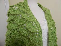▶ Shawl Triangular Crochet parte 1 de 2 - YouTube - soooo pretty