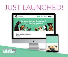 Market My Company Facebook Marketing, Digital Marketing, Puppy School, Better Relationship, Home Schooling, Dog Behavior, Training Your Dog, Bff, Web Design