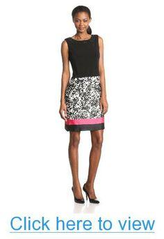 Anne Klein Women's Jersey Scarf Print Dress #Anne #Klein #Womens #Jersey #Scarf #Print #Dress