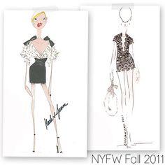 Fashion Week: Designer Sketches