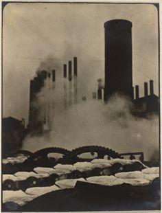 """""""Hot Pigs,"""" Otis Steel Co., Cleveland, 1928 Margaret Bourke-White (American, 1904-1971)"""
