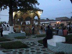 El Bello Parque de la Alameda en Analco Zacatecoluca, El Salvador