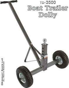 Adjustable Height Boat Trailer Dolly