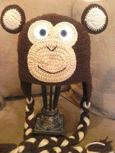 Chango hat crochet