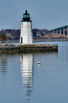 Goat Island Lighthouse =NewPort RI