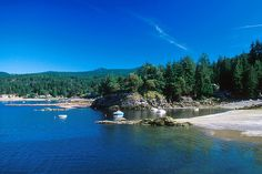 Halfmoon Bay, Sechelt Peninsula, Sunshine Coast, British Columbia, Canada