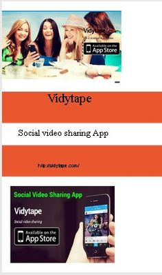Post with 4 votes and 127 views. Shared by Vidytape. Best App for Video Sharing-vidytape