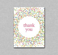 thank you card stamp with pencil eraser! Dots - with paint or metallic markers?