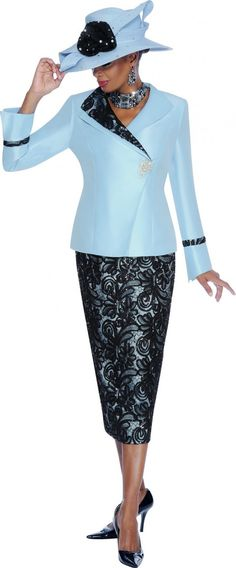 Check out the deal on Terramina 7379 Womens Lace Church Suit at French Novelty