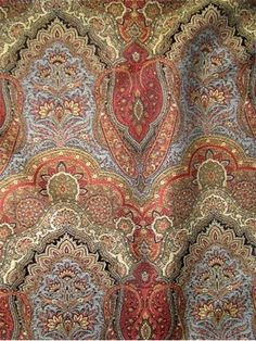 5324 378   Henredon Fabric   Henredon Furniture Fabric   Traditional  Paisley, Floral And Foulard Medalian Tapestry Fabric. Perfect For Furniture  Upholstery, ...