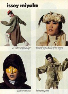 """howtobeafuckinglady: """" Issey Miyake by Irving Penn, Vogue Magazine October 1988 """" Anti Fashion, Dope Fashion, Fashion Art, Fashion Brands, Fashion Design, Fashion Details, Issey Miyake, Beauty Editorial, Editorial Fashion"""
