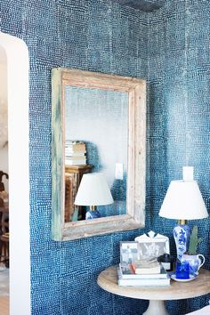 Wallpaper Goals - 20 Ways To Add Indigo To Your Home - Photos