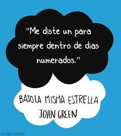 """Final de """"Bajo la misma Estrella"""" de John Green"""