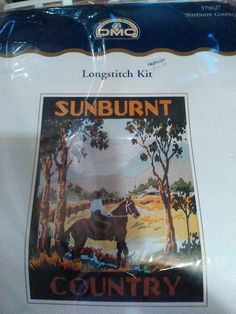 DMC Long Stitch Kit - Sunburnt Country