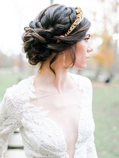 Wedding Hairstyles: Exquisitely Striking And Desirable – Stylish Hairstyles Sweet 16 Hairstyles, Fancy Hairstyles, Bride Hairstyles, Headband Hairstyles, Trendy Hairstyles, Wedding Tiara Hairstyles, Hairdo Wedding, Wedding Hair Down, Wedding Hair And Makeup