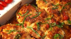 Could work...without the cheeses, bread crumbs, egg yolk.Stuffed Eggplant Parm - Delish.com
