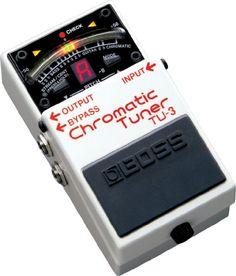 BOSS ボス CHROMATIC TUNER クロマチック・チューナー TU-3 BOSS http://www.amazon.co.jp/dp/B004D8KX7K/ref=cm_sw_r_pi_dp_a1njvb1GN0WP5