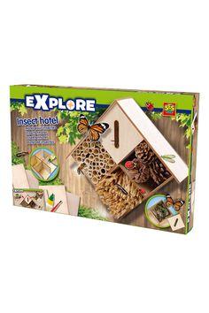 Venda SES Creative / 21227 / Exploração / Kit Hotel para insetos A partir dos 5 anos