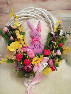 Skupina - Jar a veľkonočné inšpirácie Vence, Bude, Grapevine Wreath, Grape Vines, Floral Wreath, Jar, Wreaths, Home Decor, Floral Crown