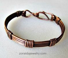 Small Copper Wire Bracelet